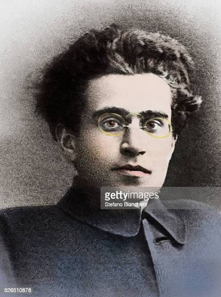 Portrait of Italian politician Antonio Gramsci