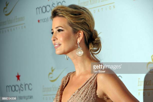 Portrait of Ivanka Trump as she poses during a dinner for the European School of Economics Foundation at Cipriani New York New York December 5 2012
