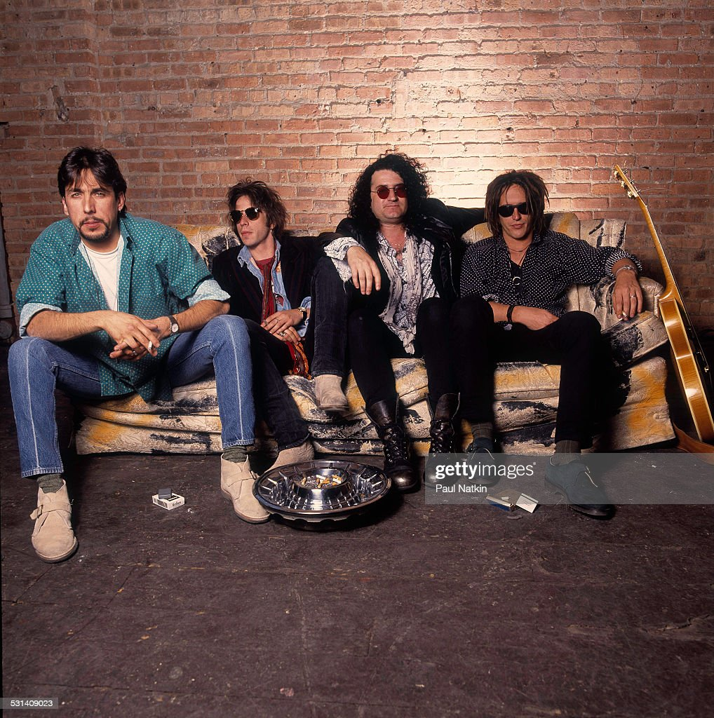 Portrait of Izzy Stradlin and the Juju Hounds, Chicago, Illinois, May 15, 1992.