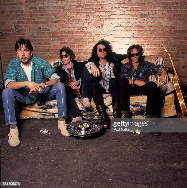 Portrait of Izzy Stradlin and the Juju Hounds Chicago Illinois May 15 1992