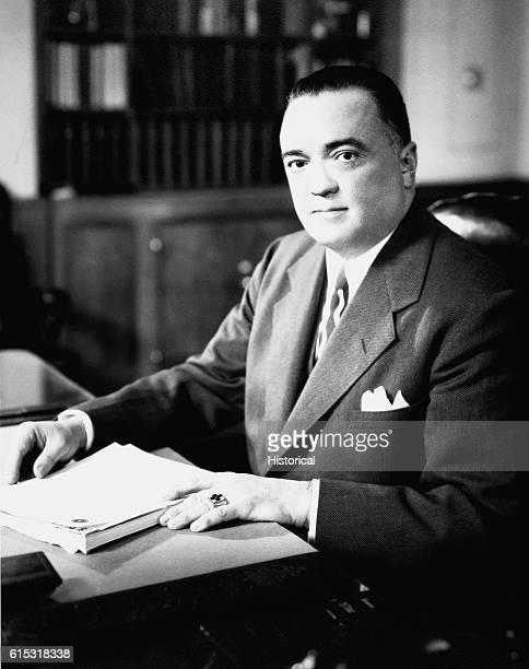 Portrait of J Edgar Hoover Hoover was the Director of the FBI from 19241972