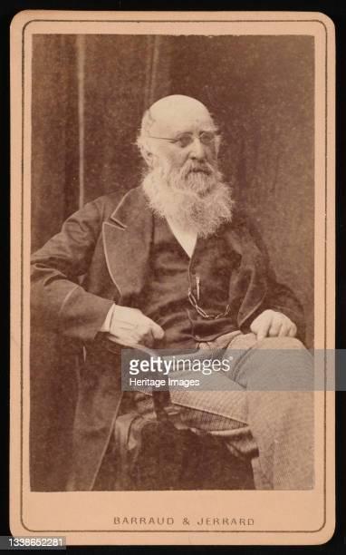 Portrait of J. H. Silbert, Before 1877. Of Harpenden, St. Albans, England. Artist Barraud & Jerrard.