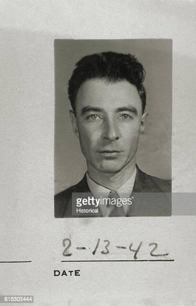 Portrait of J Robert Oppenheimer
