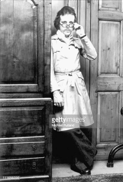 Portrait of Jack Bruce in London, 1972.