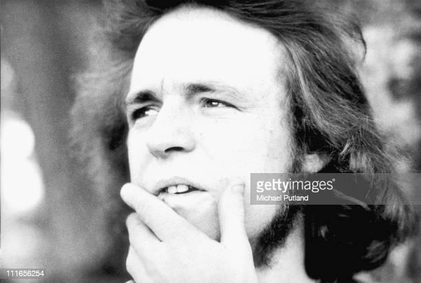 Portrait of Jack Bruce in London, 1974.