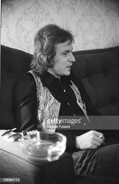 Portrait of Jack Bruce, London, 1974.
