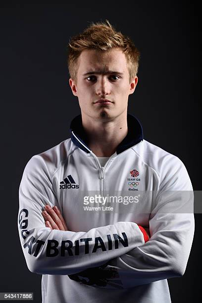 A portrait of Jack Laugher a member of the Great Britain Olympic team during the Team GB Kitting Out ahead of Rio 2016 Olympic Games on June 28 2016...