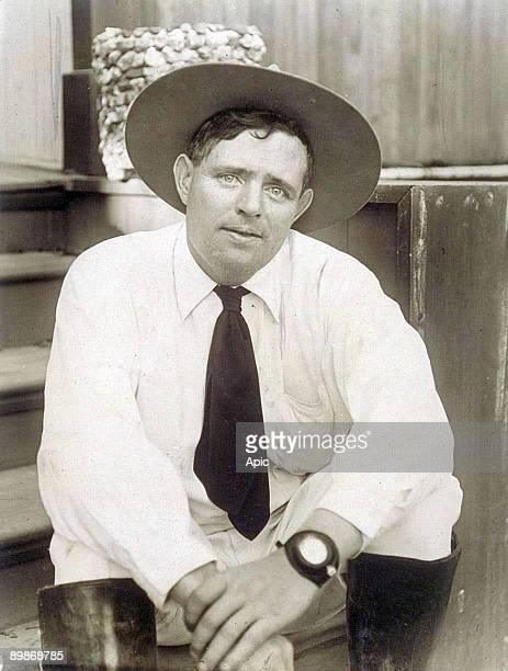 Portrait of Jack London November 1916