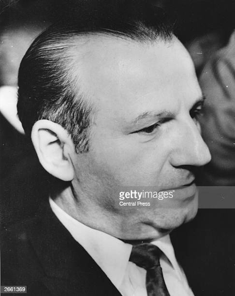 A portrait of Jack Ruby the Dallas nightclub proprietor who murdered President Kennedy's alleged assassin Lee Harvey Oswald He was sentenced to death...