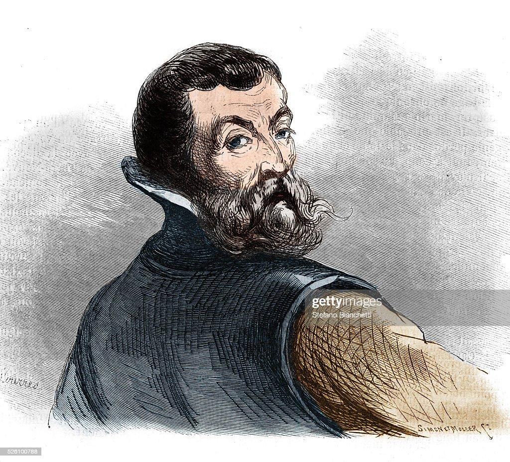 Portrait of Jacques Cartier : ニュース写真
