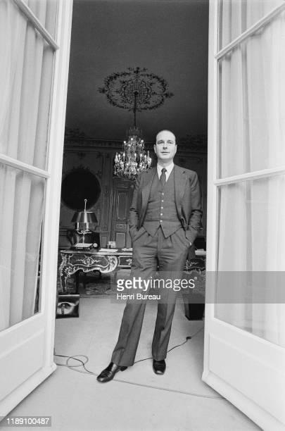Portrait of Jacques Chirac