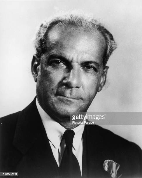 Portrait of Jamaican politician, First Minister, and independence leader Norman W. Manley , circa 1960. Manley founded Jamaica's left-leaning...