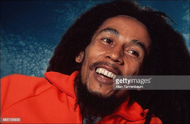 Portrait of Jamaican Reggae musician Bob Marley New York New York October 1979