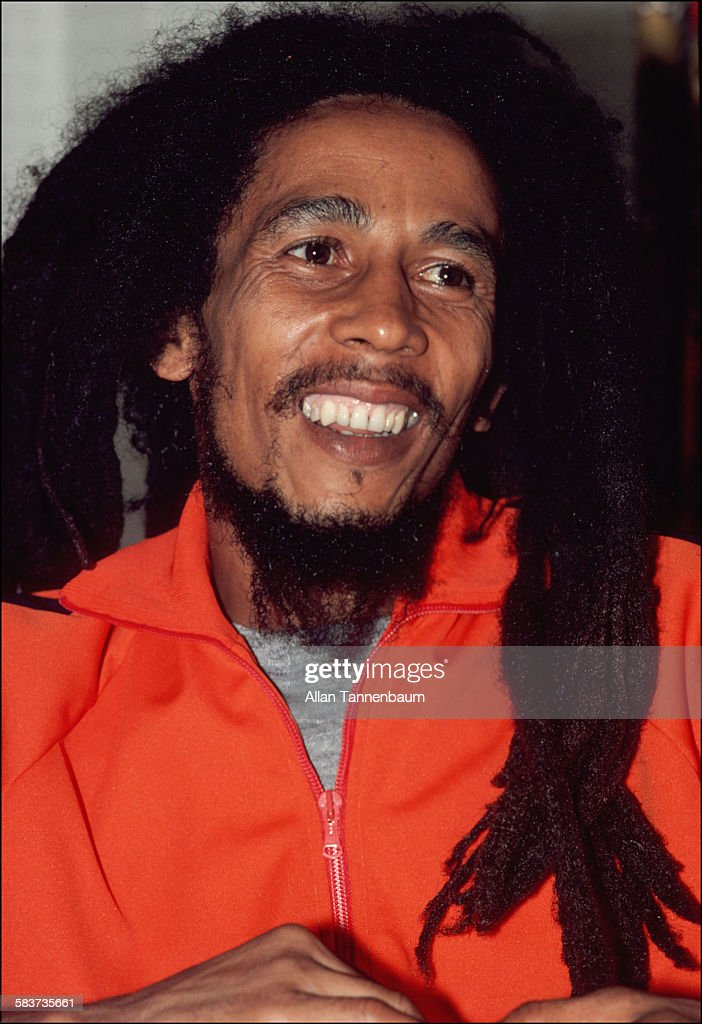 Portrait of Jamaican Reggae musician Bob Marley, New York, New York, October 1979.