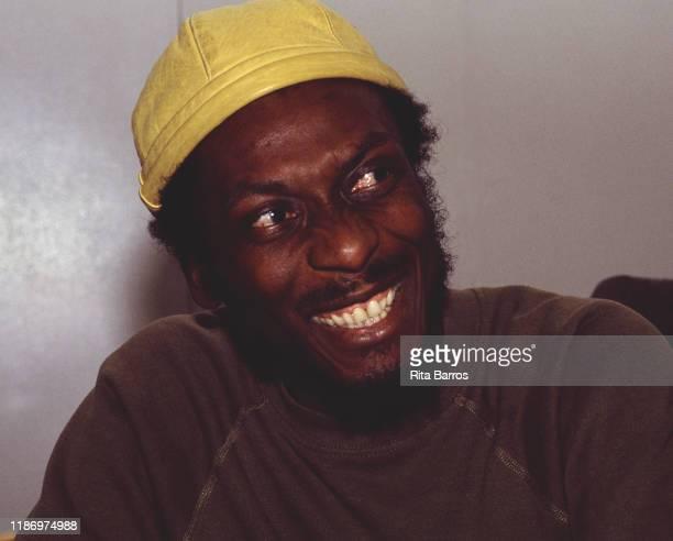 Portrait of Jamaican Reggae musician Jimmy Cliff New York New York March 29 1988