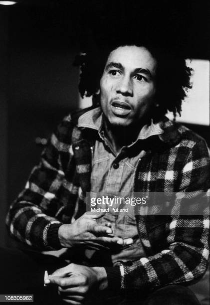 A portrait of Jamaican singersongwriter and musician Bob Marley in London 31st May 1973