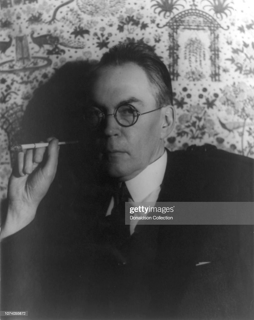 Portrait of James Branch Cabell : News Photo