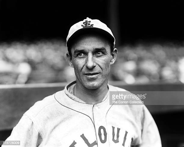 A portrait of James F O'Rourke of the St Louis Browns in 1927