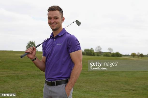 Portrait of James Johnson of Bramley golf club winner of the PGA Assistants Championship South Qualifier at Farleigh golf club on May 9 2017 in...