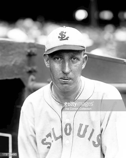 A portrait of James Wright of the St Louis Browns in 1927