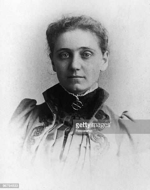 Portrait of Jane Addams circa 1870s