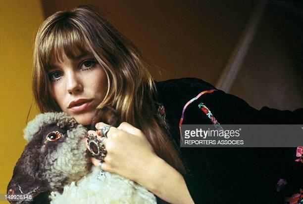 Portrait of Jane Birkin in the Sixties