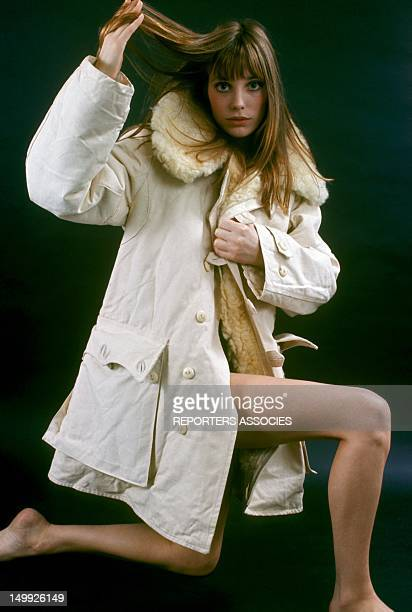Portrait of Jane Birkin taken in the Sixties