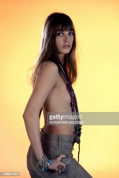 Portrait of Jane Birkin taken in the Sixties