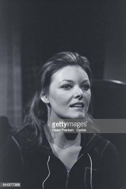 Portrait of Jane Curtin on Saturday Night Live