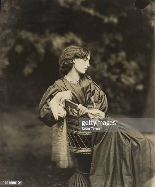 Portrait of Jane Morris , John Robert Parsons , Cheyne Walk, Chelsea, England, negative July 1865, print about 1900, Gelatin silver print, 23.7 x...