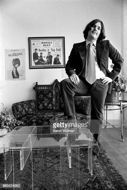 Portrait of Jann Wenner founder and publisher of Rolling Stone magazine in his office in San Francisco 1969