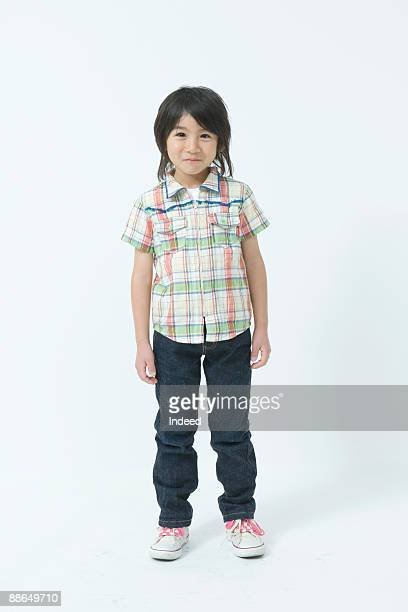 portrait of japanese boy ( 8-9 years), full length - 6 7 years stock pictures, royalty-free photos & images