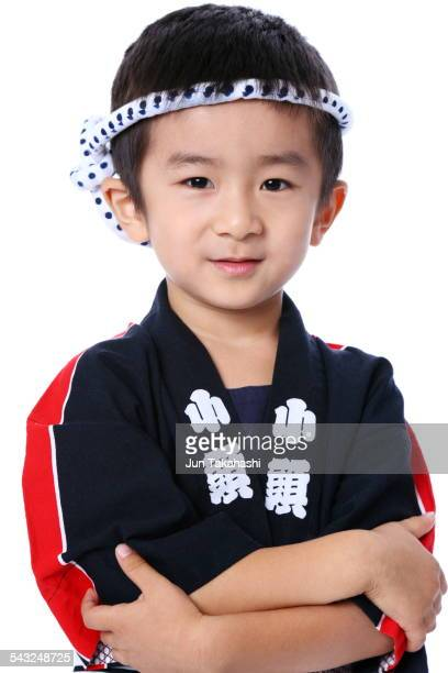 portrait of Japanese boy