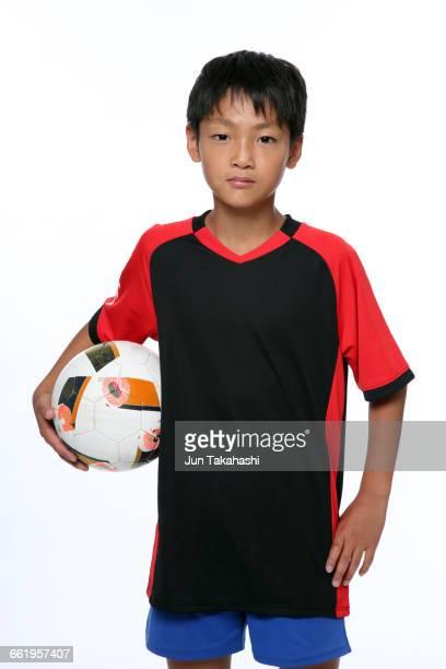 portrait of Japanese boy