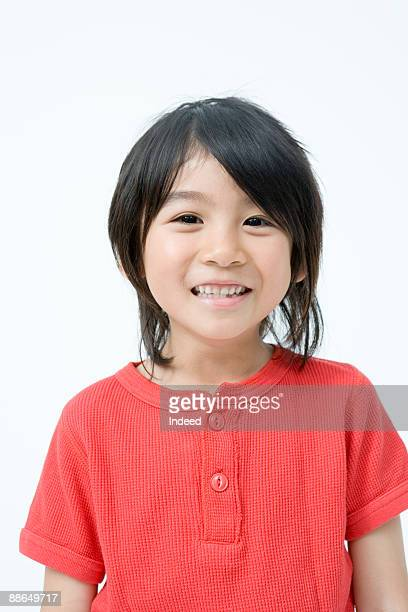 portrait of japanese boy (8-9 years) - 6 7 years stock pictures, royalty-free photos & images