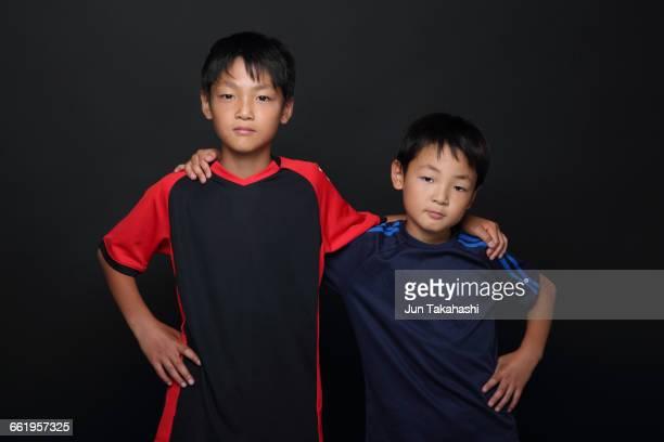 portrait of Japanese boys