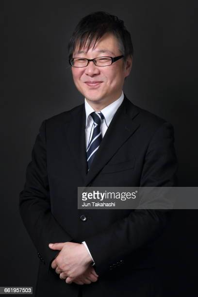 Portrait of Japanese business man