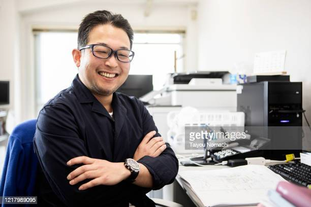 portrait of japanese business person - authenticity stock pictures, royalty-free photos & images