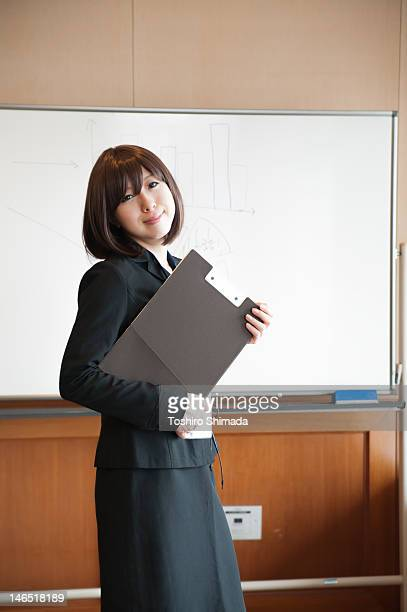 Portrait of Japanese business woman