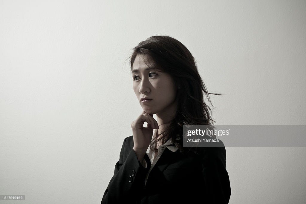 Portrait of Japanese business woman : Stock Photo