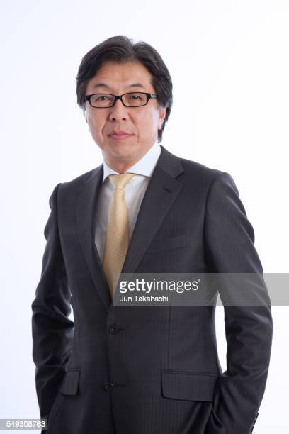 Portrait of Japanese businessman