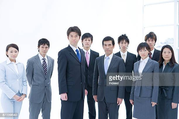 Portrait of Japanese busuness people