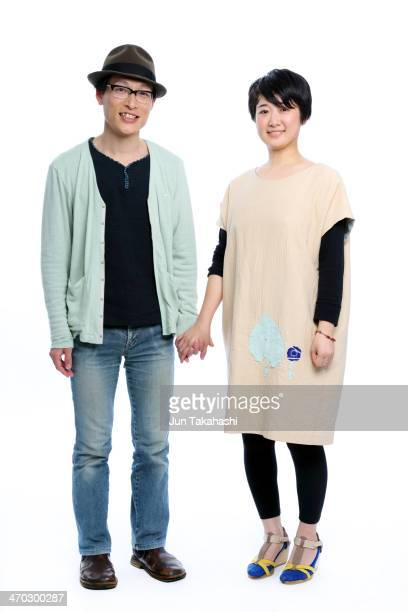 portrait of japanese couple