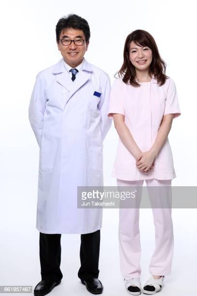 portrait of Japanese doctors