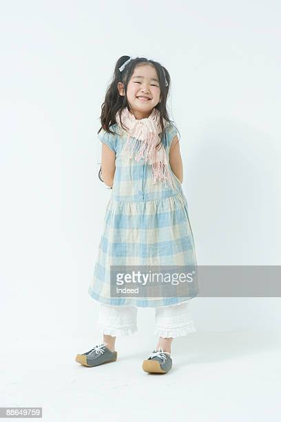 Portrait of Japanese girl (6-7 years)