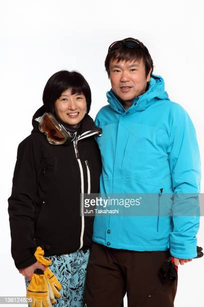 Portrait of Japanese husband and wife