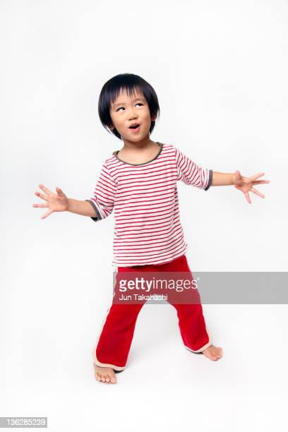 Portrait of Japanese kid
