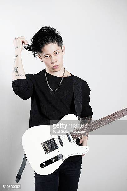 Portrait of Japanese musician Takamasa Ishihara better known by his stage name Miyavi photographed in London on September 23 2015