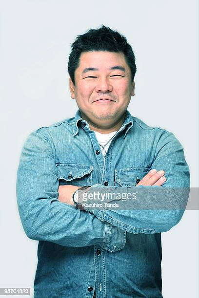 portrait of japanese - 40代 ストックフォトと画像
