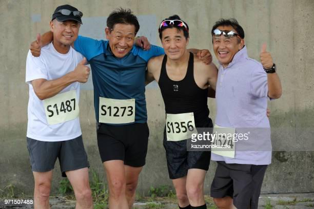 日本のスポーツマンの肖像画